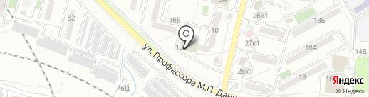 Обнова на карте Хабаровска