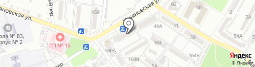 Спец на карте Хабаровска