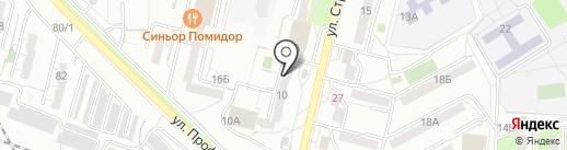 Дестрой на карте Хабаровска