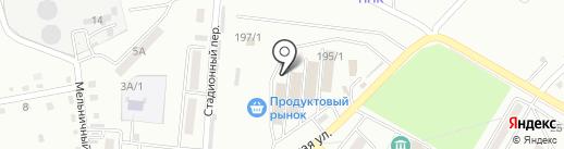 Антарс на карте Хабаровска