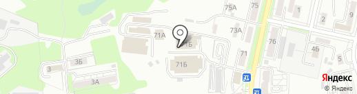 Юань на карте Хабаровска