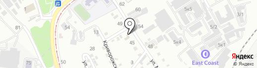 Уминаки на карте Хабаровска