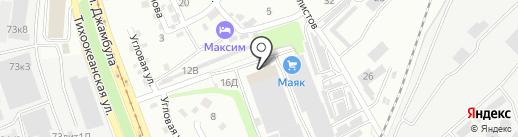 Карго Инвест на карте Хабаровска