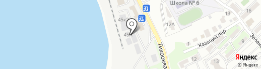 Гидромир ДВ на карте Хабаровска