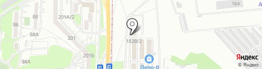ДВ Сервис на карте Хабаровска