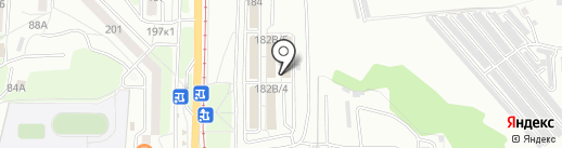 Серж на карте Хабаровска
