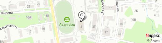 Амуржим на карте Хабаровска