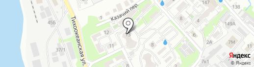 Технонебо на карте Хабаровска