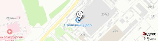 ТУРИН на карте Хабаровска