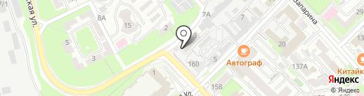 Раскладушка27 на карте Хабаровска