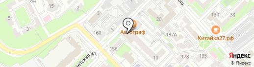 Поместье 27 на карте Хабаровска