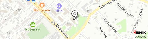 ОРТЕГА на карте Хабаровска