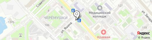 Светланка на карте Хабаровска