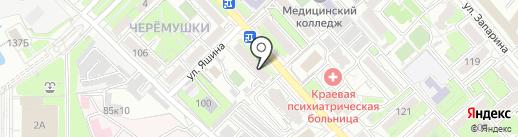 Prestige на карте Хабаровска