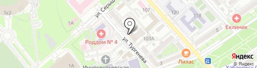 Жилстройсервис на карте Хабаровска