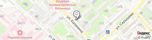 Премиум ДВ на карте Хабаровска