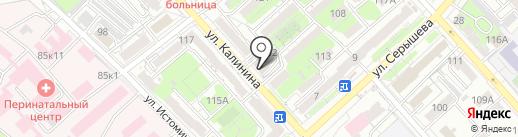 Оценочно-экспертная компания на карте Хабаровска