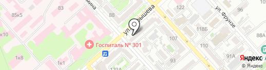 Добрые продукты на карте Хабаровска