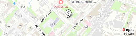 МК-спорт на карте Хабаровска