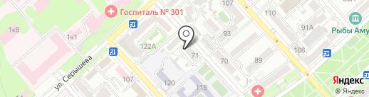 Центр психолого-медико-педагогического сопровождения на карте Хабаровска