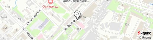 Умный вес на карте Хабаровска