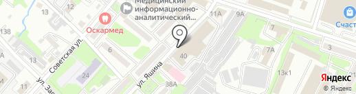 1000покупок на карте Хабаровска