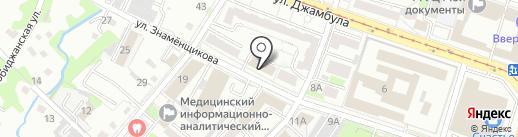 Адвокат Литвиненко Е.В. на карте Хабаровска