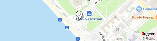 Food stop на карте Хабаровска