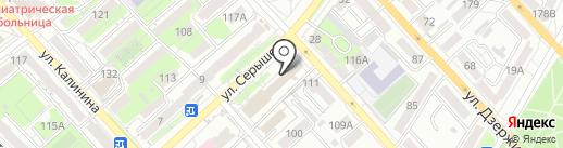 Дальневосточный центр специального обучения, НОУ ДПО на карте Хабаровска