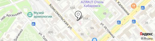 Volos на карте Хабаровска