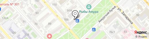 Фортуна на карте Хабаровска
