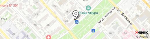 Лилия плюс на карте Хабаровска