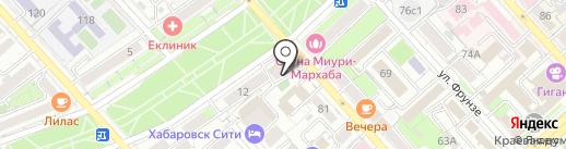 Ай Ти Технологии на карте Хабаровска