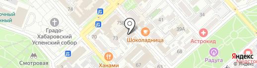 Интерсоюз-ДВ на карте Хабаровска