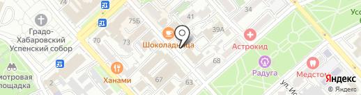 Экспресс полиграфия на карте Хабаровска