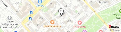IQ model agency на карте Хабаровска
