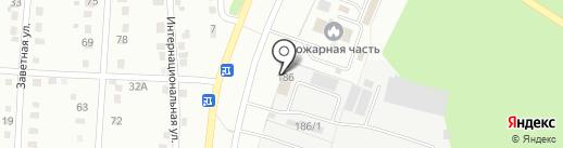 ДВ МАШ на карте Хабаровска