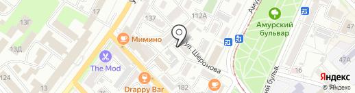 Топограф, ТСЖ на карте Хабаровска