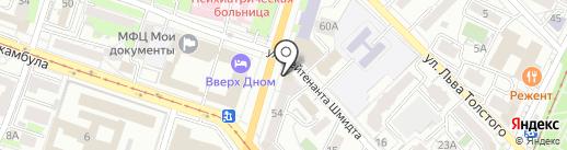 Look-Studio на карте Хабаровска