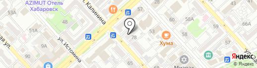 ДВлинк+ на карте Хабаровска