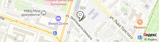 Адвокатский кабинет Заикина Д.В. на карте Хабаровска