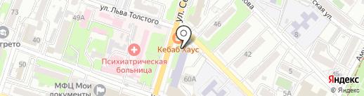 Главное управление МЧС России по Хабаровскому краю на карте Хабаровска