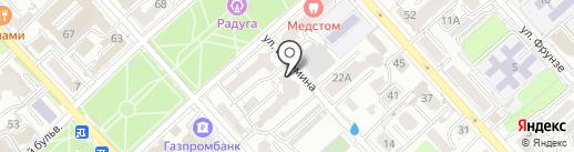 ГарантСтрой на карте Хабаровска