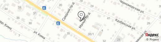 УМКА на карте Хабаровска