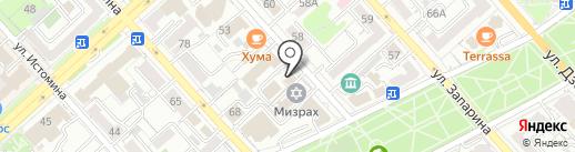 Новоторг на карте Хабаровска