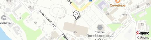 Телешкола на карте Хабаровска