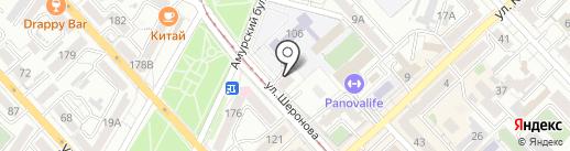 Rabota7.ru на карте Хабаровска