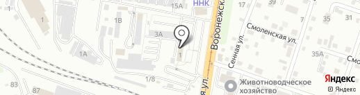 Межрайонное регистрационно-экзаменационное подразделение ГИБДД на карте Хабаровска