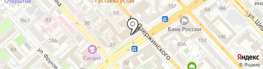 МУЗВитрина на карте Хабаровска
