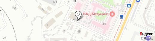 РЖД на карте Хабаровска